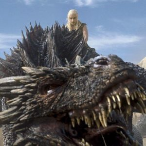 Daenerys - Game of Thrones - Dragon