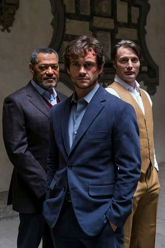 HANNIBAL LECTER, JACK CRAWFORD AND WILL GRAHAM