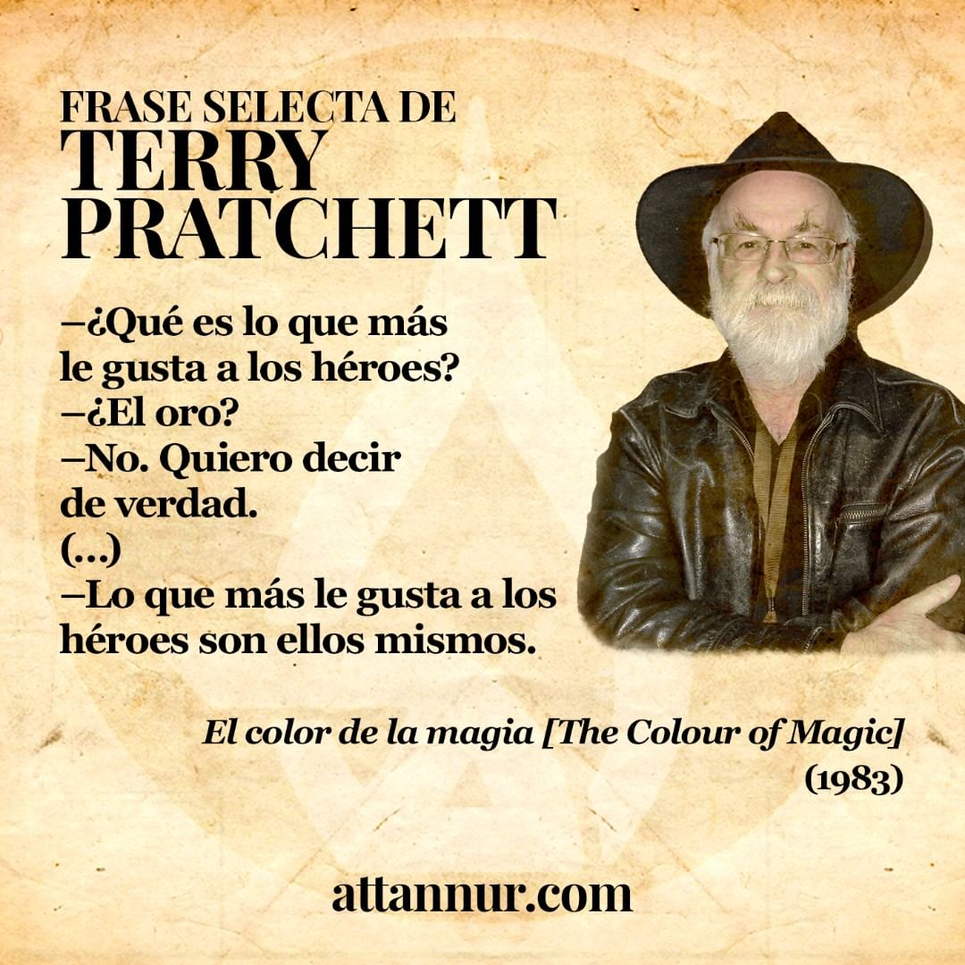 TERRY PRATCHETT - EL COLOR DE LA MAGIA